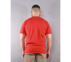 T-SHIRT PATRIOTIC TAG MINI RED