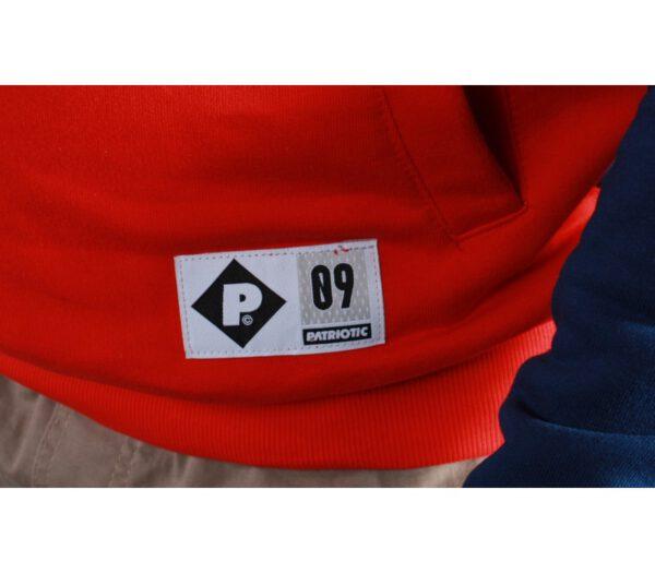 BLUZA PATRIOTIC KLASYK F SHADE SHOULDER RED/BLUE