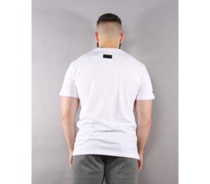 T-SHIRT BOR NEW OUTLINE WHITE