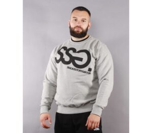 BLUZA SSG KLASYK BIG GREY