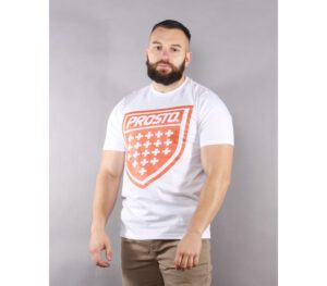 T-SHIRT PROSTO SHIELD XIX SNOW WHITE