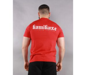 T-SHIRT KAMIKAZE SHIZME RED