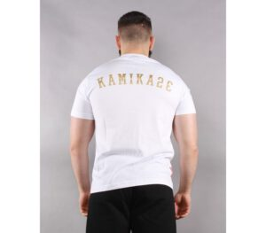 T-SHIRT KAMIKAZE SHIZME GOLD