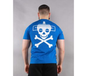 T-SHIRT KAMIKAZE LABEL OLOSOLO BLUE