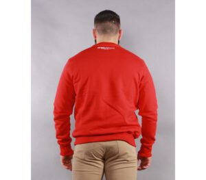 BLUZA PITBULL KLASYK CLASSIC BOXING RED