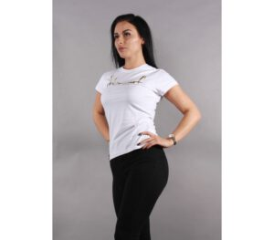 T-SHIRT DAMSKI STOPROCENT TDS CUTTAG WHITE