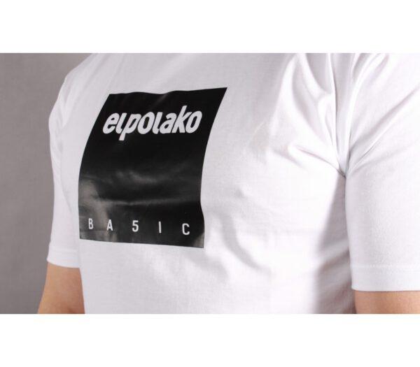 T-SHIRT EL POLAKO BOX STYLE WHITE
