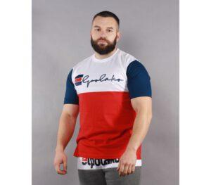 T-SHIRT EL POLAKO MISTRZ WHITE/RED/NAVY