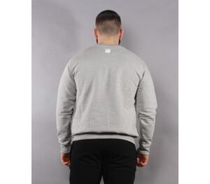 BLUZA SSG KLASYK LINE SSG LIGHT GREY/NAVY