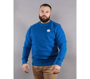 BLUZA PITBULL KLASYK SMALL LOGO ROYAL BLUE