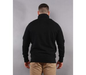 BLUZA PITBULL KLASYK HALF ZIP SMALL LOGO BLACK