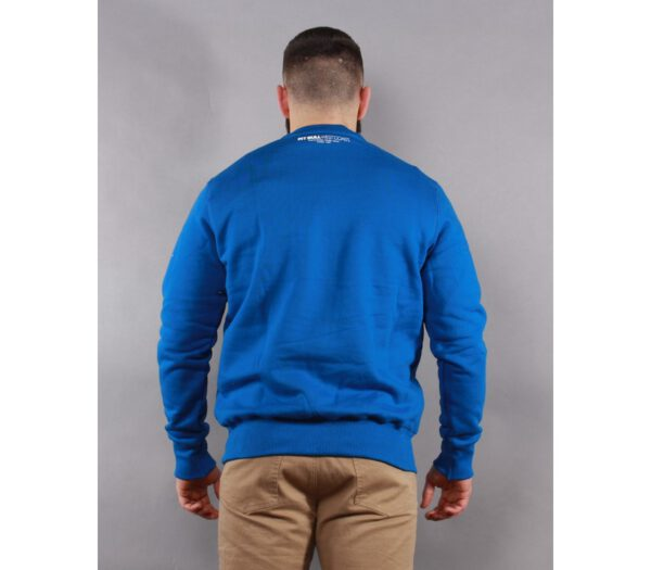BLUZA PITBULL KLASYK CLASSIC BOXING ROYAL BLUE