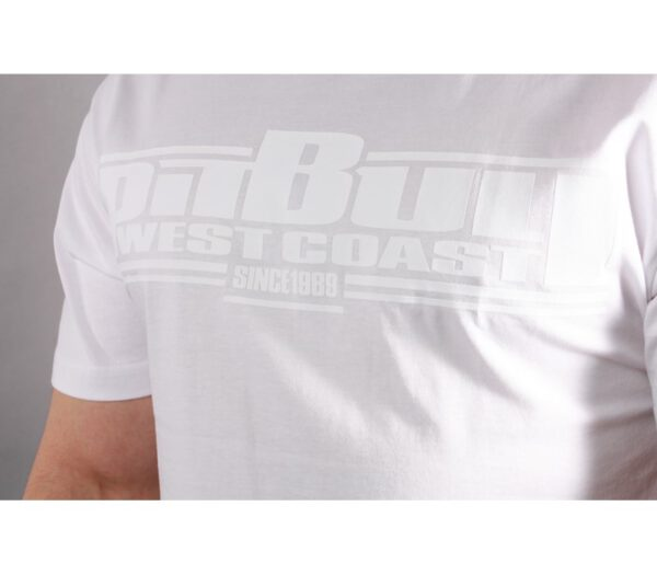 T-SHIRT PITBULL ONE TONE BOXING WHITE