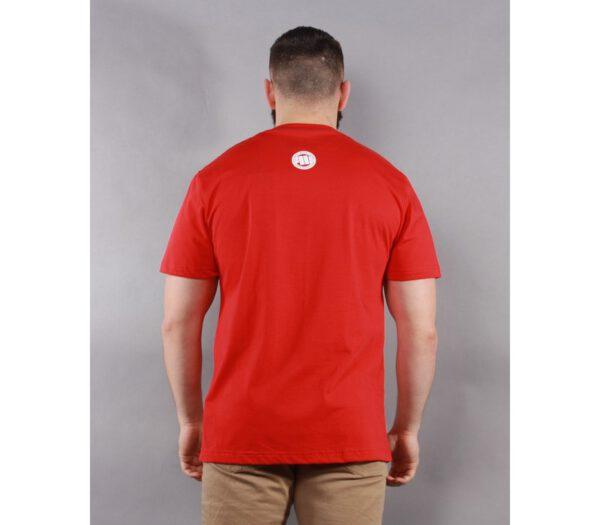 T-SHIRT PITBULL SKULLER RED