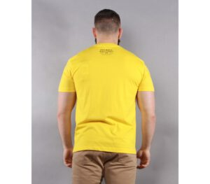 T-SHIRT PITBULL SAN DIEGO YELLOW