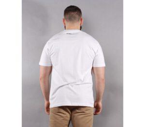 T-SHIRT PITBULL CLASSIC LOGO WHITE