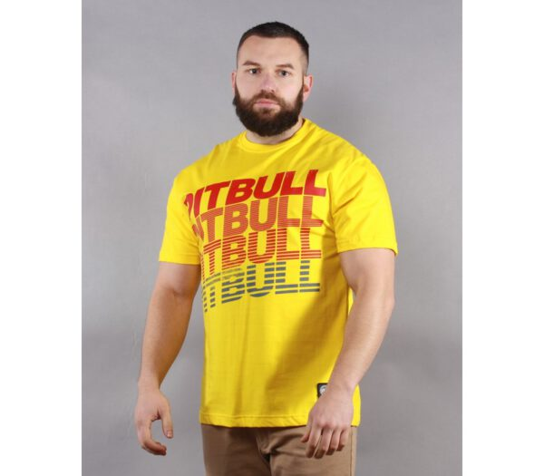T-SHIRT PITBULL HILLSDALE YELLOW
