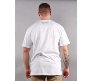 T-SHIRT PITBULL RATING PLATE WHITE