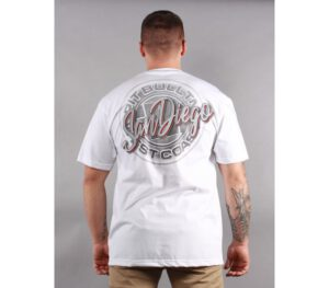 T-SHIRT PITBULL ORIGINAL SAN DIEGO WHITE