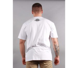 T-SHIRT PITBULL BANNER WHITE