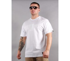 T-SHIRT PITBULL ONE TONE LOGO WHITE