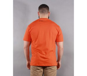 T-SHIRT PITBULL CASINO ORANGE