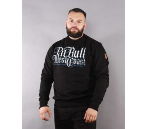 BLUZA PITBULL KLASYK SKULL DOG BLACK