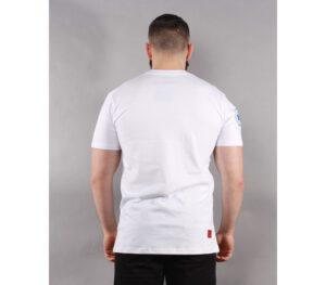 T-SHIRT BOR COLLEGE WHITE