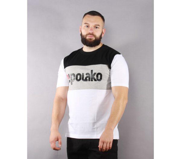 T-SHIRT EL POLAKO ELPO NEW WHITE