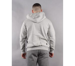 BLUZA SSG ZIP KAPTUR DOUBLE GREY