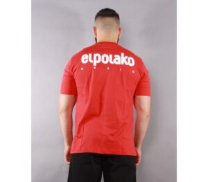 T-SHIRT EL POLAKO LITTLE CLASSIC RED