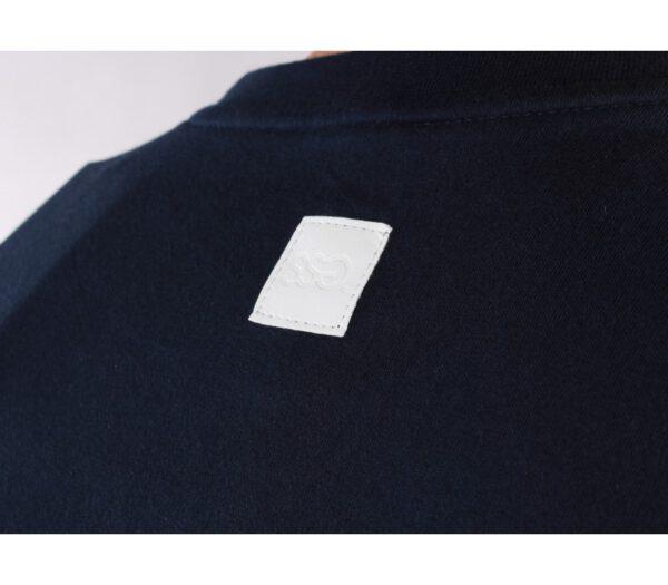 T-SHIRT SSG OUTLINE COLORS GRANAT