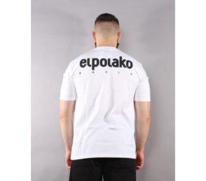 T-SHIRT EL POLAKO LITTLE CLASSIC WHITE