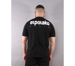 T-SHIRT EL POLAKO LITTLE CLASSIC BLACK