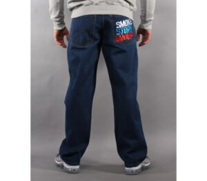 SPODNIE SSG JEANS COLORS DARK BLUE