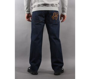 SPODNIE SSG JEANS TAG REGULAR DARK BLUE