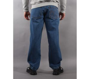 SPODNIE METODA SPORT JEANS MH STITCH MEDIUM BLUE