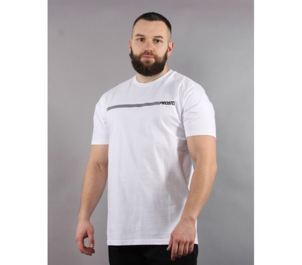 T-SHIRT PROSTO MENTAL WHITE