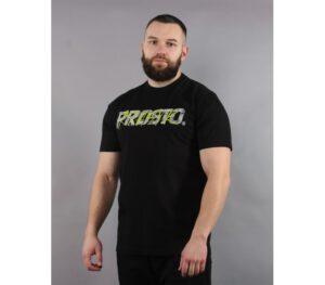 T-SHIRT PROSTO TAG WALL BLACK