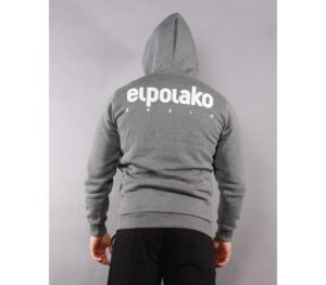 BLUZA EL POLAKO KAPTUR LITTLE CLASSIC GREY