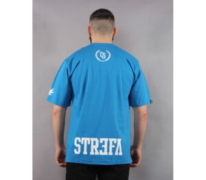 T-SHIRT CIEMNA STREFA LAUR SMALL BLUE