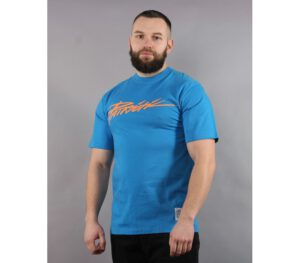 T-SHIRT PATRIOTIC TAG BLUE