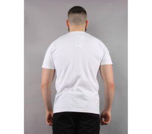 T-SHIRT PATRIOTIC CAMO LOGO WHITE