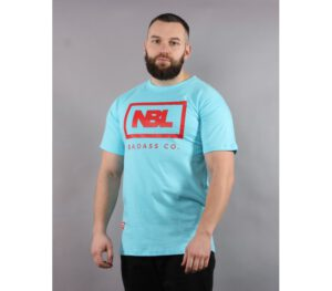 KOSZULKA NEW BAD LINE BADASS LIGHT BLUE