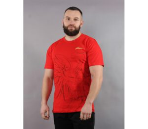 T-SHIRT PATRIOTIC EAGLE SHADOW RED