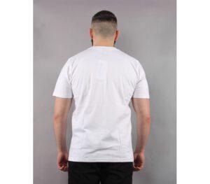 T-SHIRT PATRIOTIC FINGERPRINT WHITE