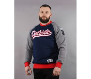 BLUZA PATRIOTIC KLASYK BASEBALL DARK BLUE