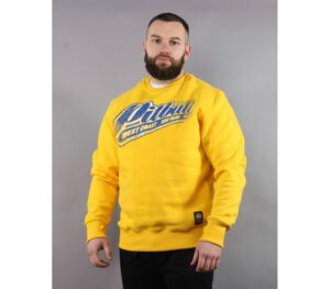BLUZA PITBULL KLASYK BRAND BLUE YELLOW