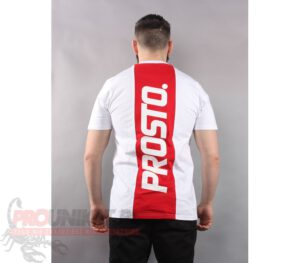 T-SHIRT PROSTO HIGHWAY WHITE