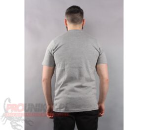 T-SHIRT PROSTO BADGE GREY